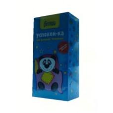Чай детский трявяной №4 УСПОКОЙ-КА с 3 лет в фильтр-пакетах